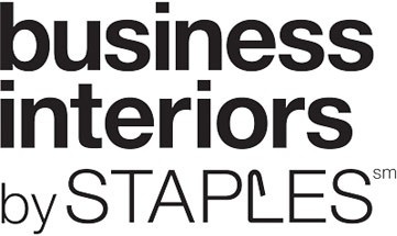 Furniture Business Interiors by Staples Logo - Black